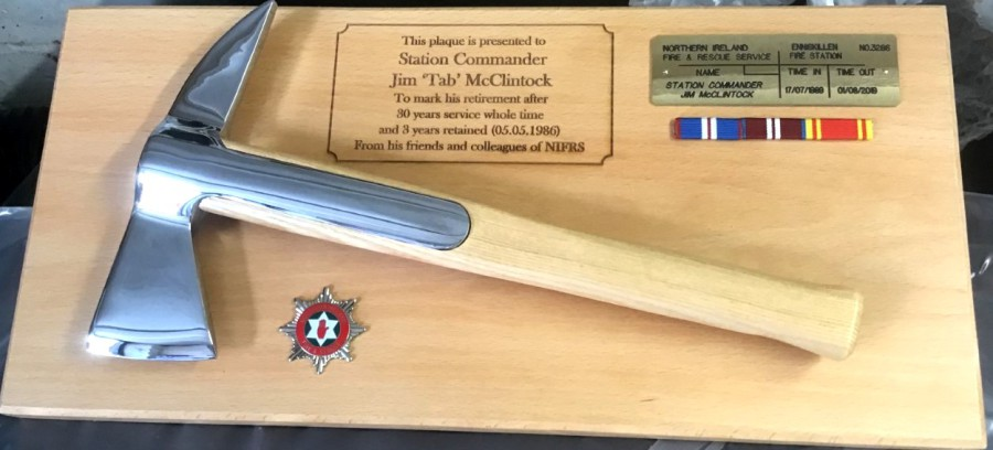 Providence Engraving Fire Fighters S Presentation Axe